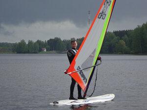 Обучение виндсерфингу и SUP серфингу в Подмосковье