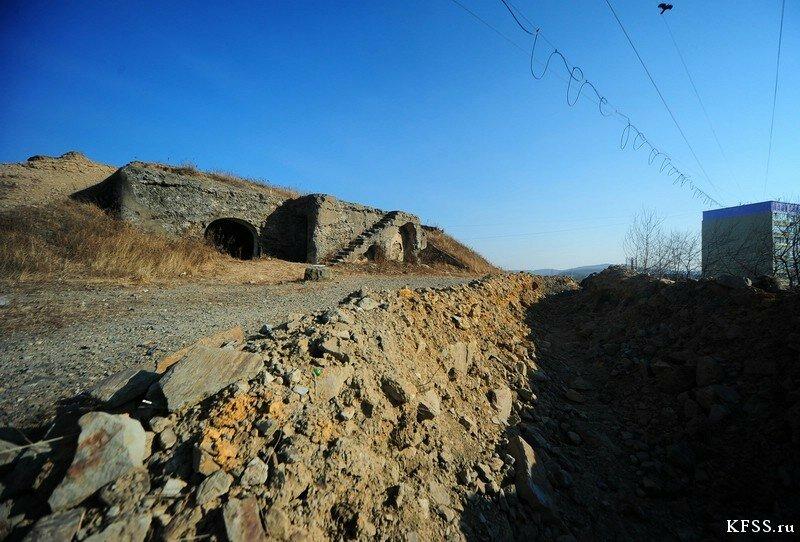 Укрепление №2 Владивостокской крепости на Сабанеева под угрозой застройки