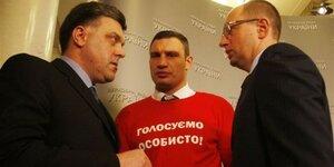 СБУ: Яценюк, Кличко, Тягнибок – особо опасные предатели Украины