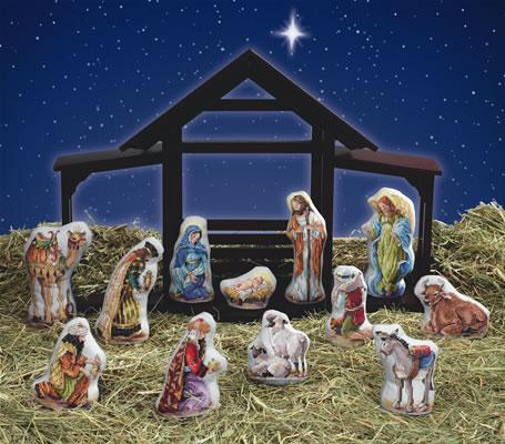 """Вышивает: Janlynn """"Nativity"""""""