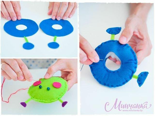 самодельная игрушка для ребенка