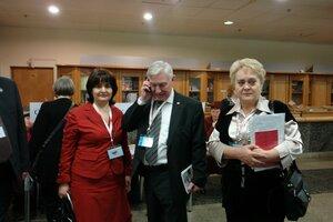 V съезд Нефтегазстройпрофсоюза РФ.Декабрь, 2010г.
