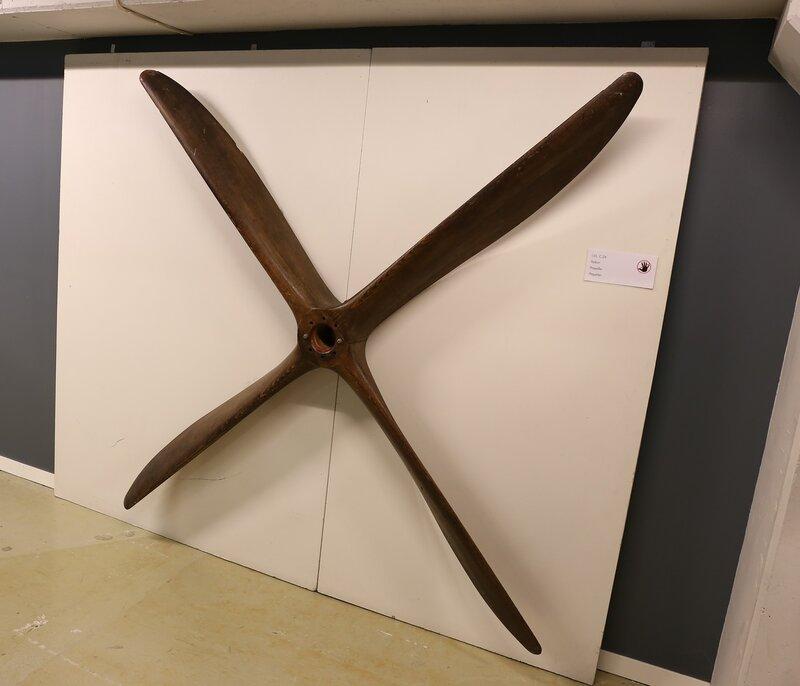 IVL C. 24 aircraft proeller. Finnish Aviation Museum, Vantaa