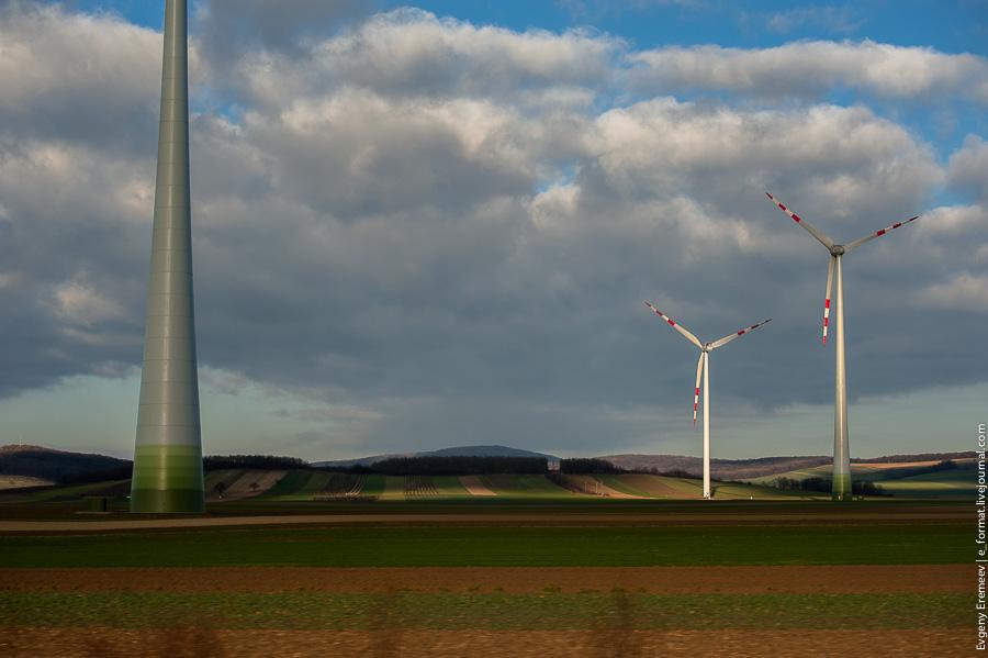 Австрия, ветряные мельницы