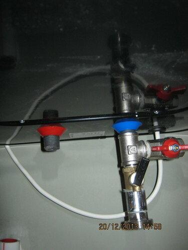 Подрывной клапан и сливной вентиль