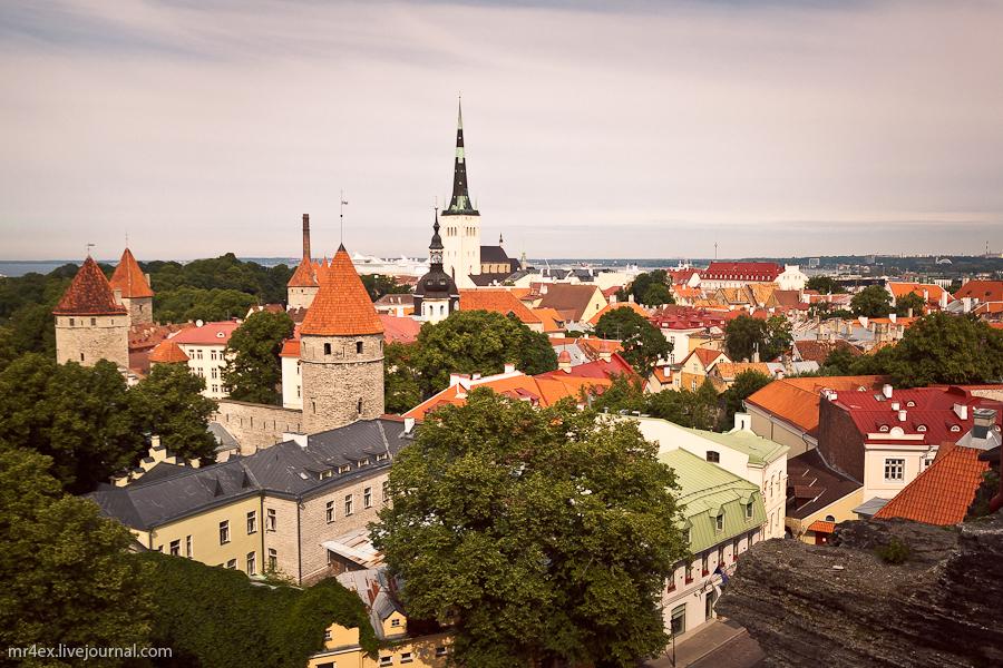 Таллин, Эстония, Старый город, Вышгород, Toompea