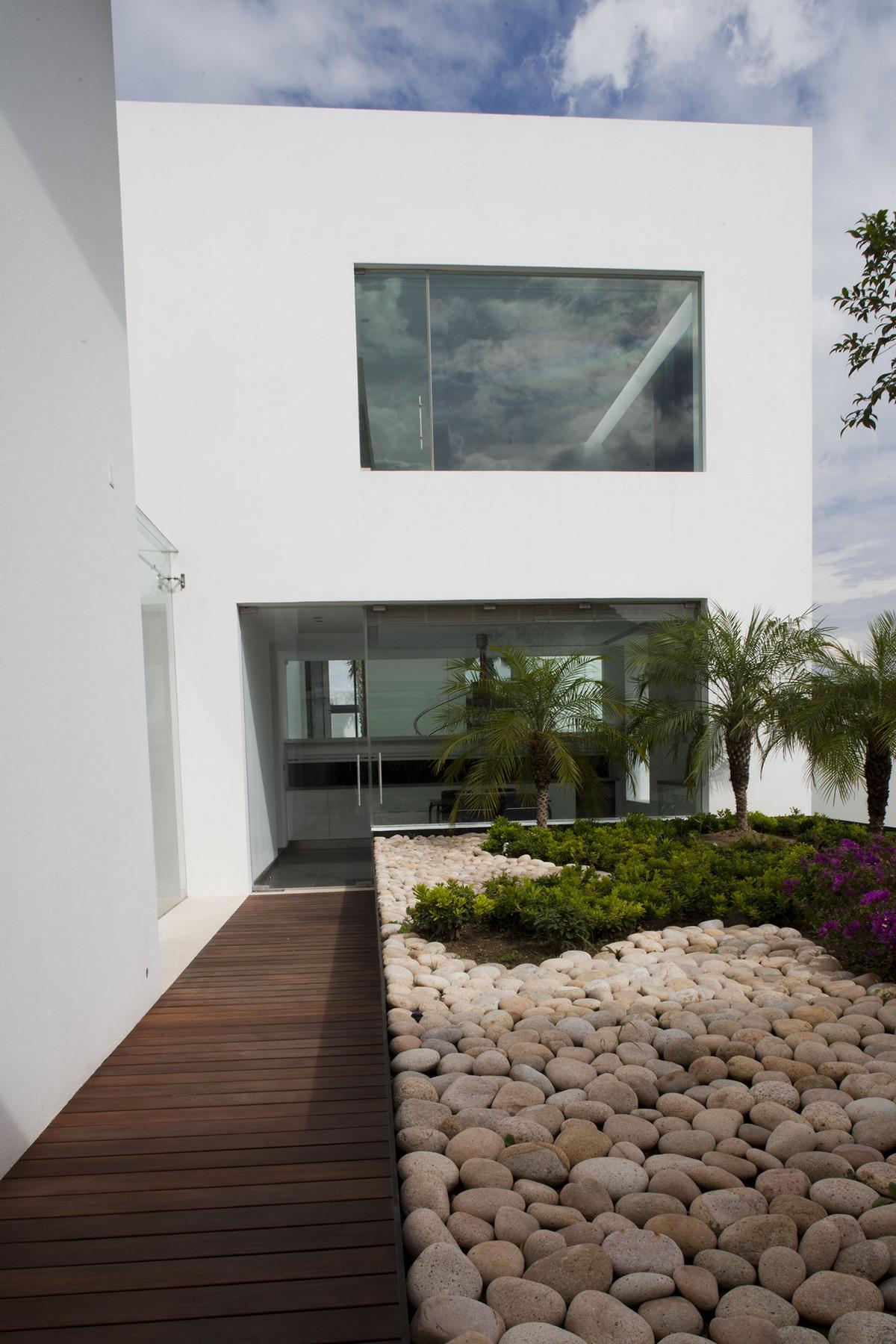 Casa del Agua, a.a.a Almazan y Arquitectos Asociados, частные дома в Мексике, красивые дома в Мексике, строгий дизайн интерьера, интерьер минимализм