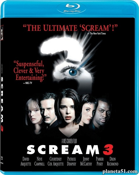 Крик 3 / Scream 3 (2000/HDRip)