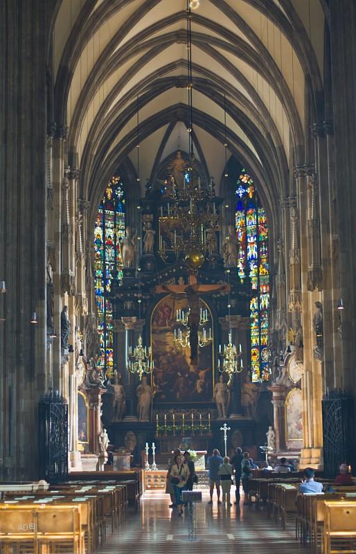 Интерьер собора Cв. Стефана