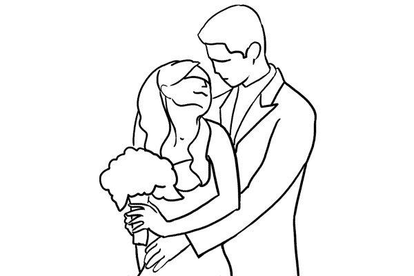 Позирование: позы для свадебной фотографии 5