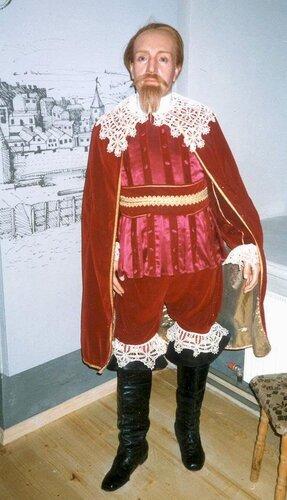 Восковая фигура шведского короля Густава II Адольфа из бывшего музея восковых фигур в Риге