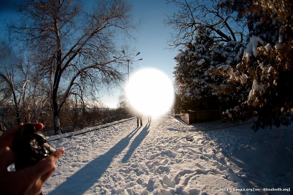 Прогулка по набережной от 19 января 2014 года
