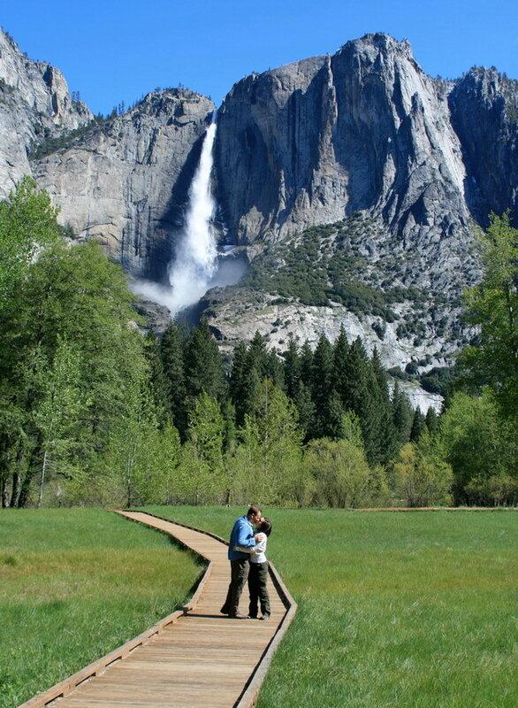 Водопад Йосемити. США