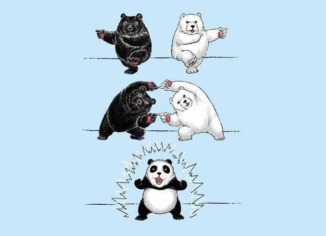 Если белый медведь переспит с черным...