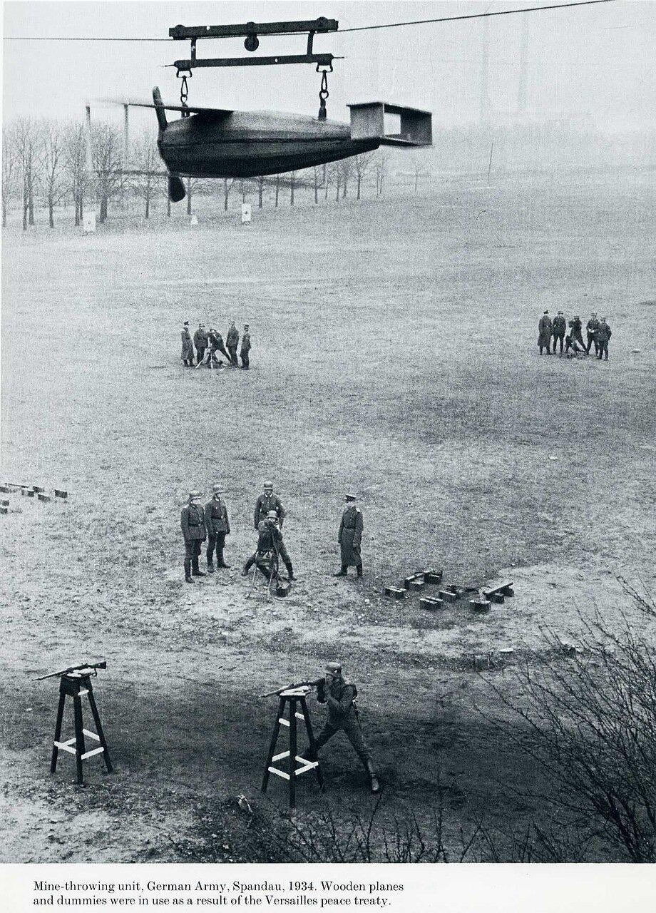 1934. Тренировка немецкой армии, Шпандау