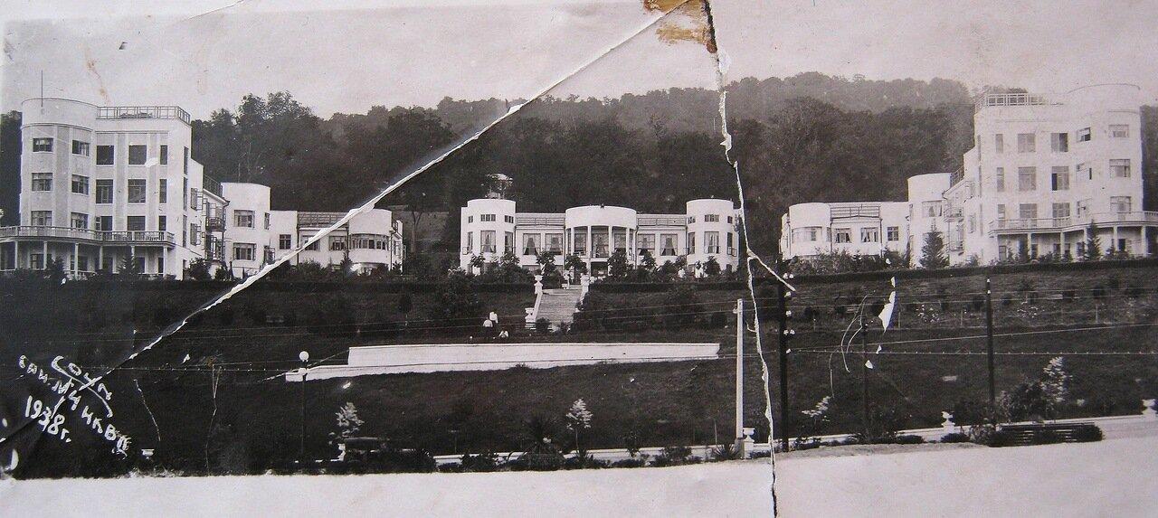 1938. Санаторий НКВД