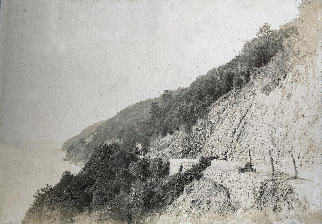 Гагры. Год от 1897 до 1910. Шоссе в Сочи