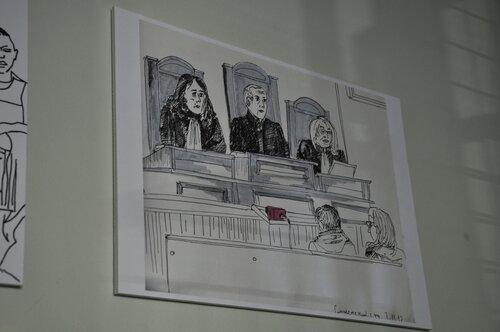 Как рисуют в судах сша