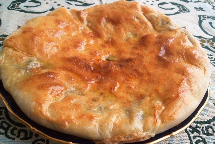 Рецепт теста для осетинских пирогов с живыми дрожжами
