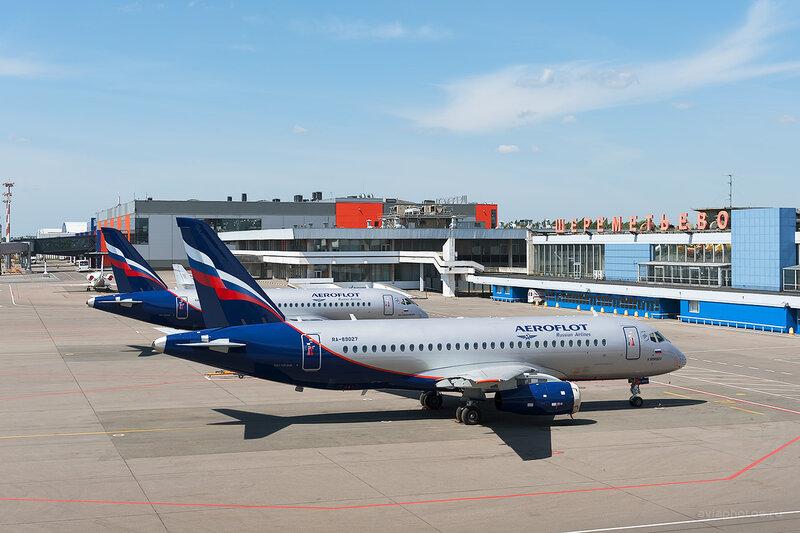 Sukhoi Superjet 100-95B (RA-89027) Аэрофлот D709856