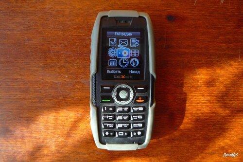 Texet TM-502R (меню)