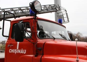 В Кишинёве на стоянке сгорели 2 автобуса