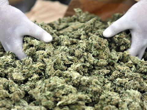 На границе задержано авто, перевозившее 20 кг марихуаны