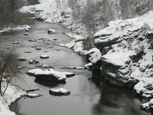 Река Миасс в окрестностях посёлка Баландино (Челябинская область). Автор фотографии - Милана Родионова