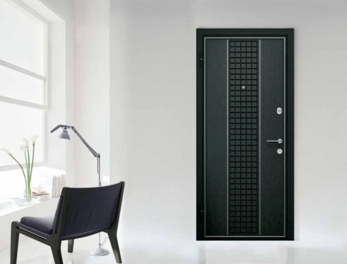 Как выбрать входные двери темного цвета
