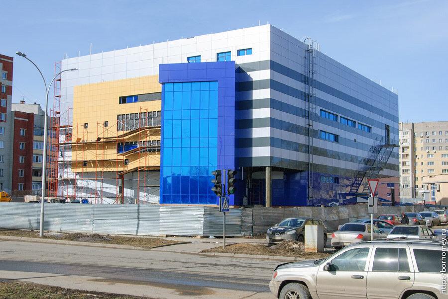 строительство торгового центра в сарове