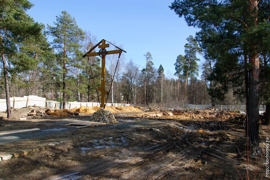 строительство нового храма в Сарове