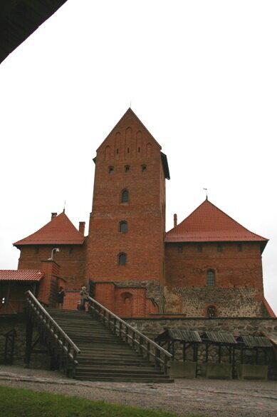 замковая часть крепости