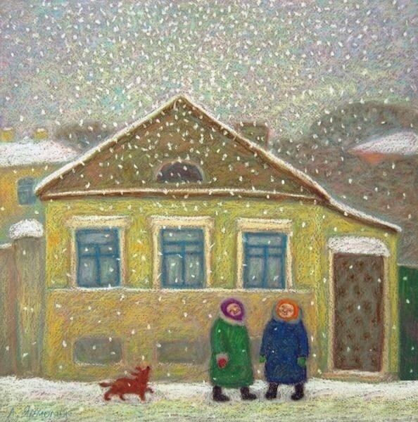 Анна Ярмолюк. Кто-то включил снег.