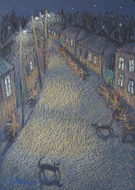 Анна Ярмолюк. Ночь на Холодной горе.