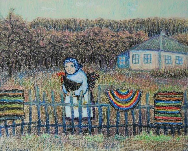 Анна Ярмолюк. Соседка или чёрный петух