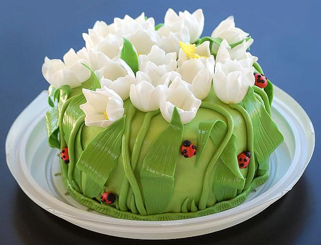 Идеи украшения тортов! Очень красивые торты!