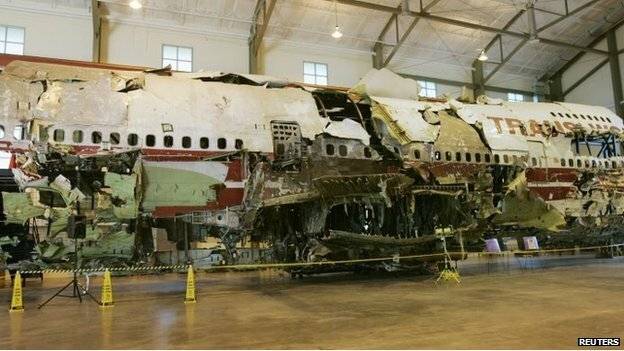 Взрыв на борту рейса 800