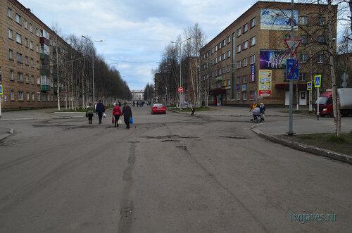 Фотография Инты №6897  Горького 6 и 9 (гостиница