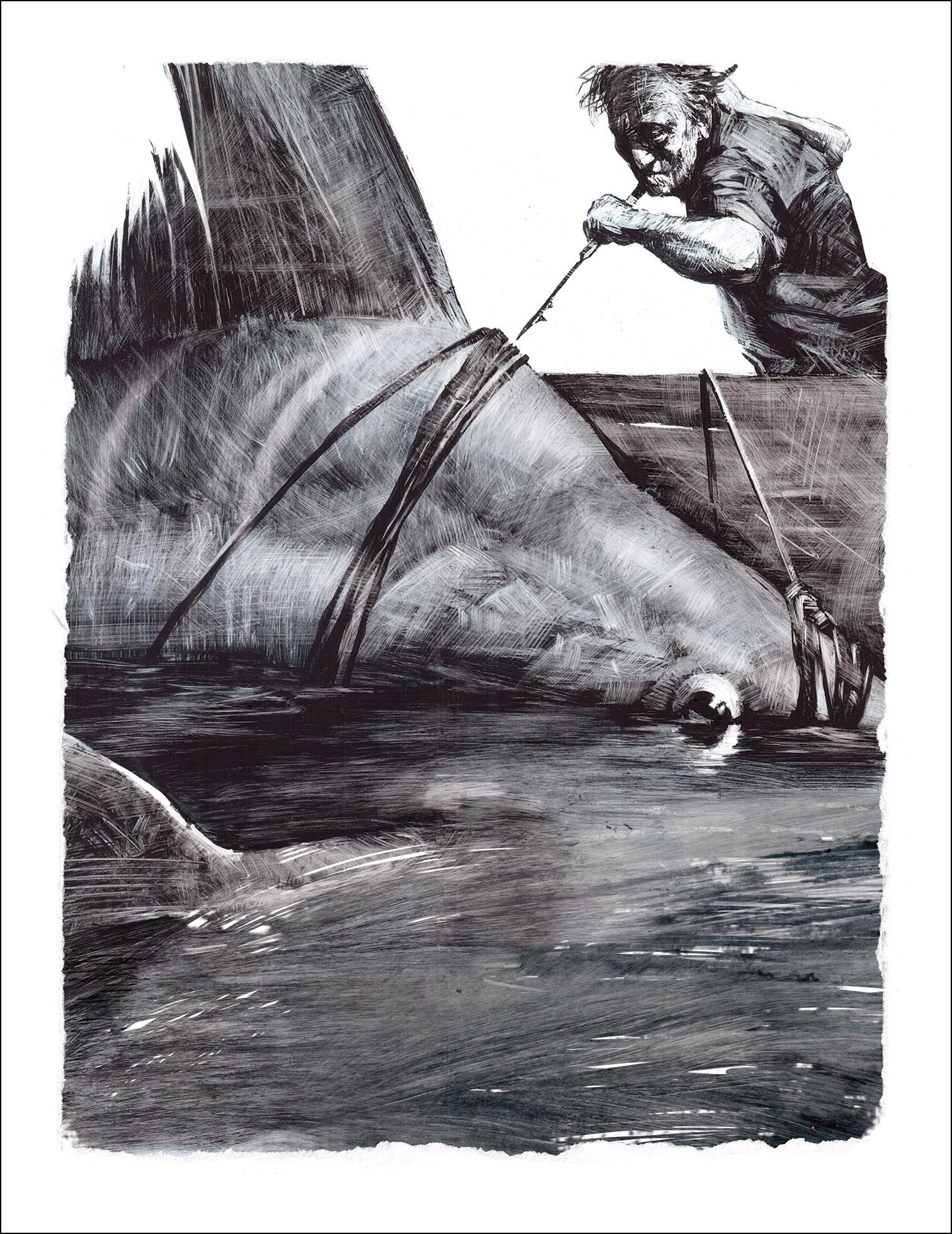 Слава Шульц, Старик и море