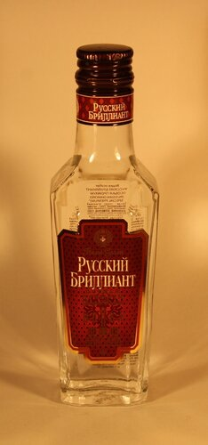 Водка Русский Бриллиант Особая Genuine Russian Vodka