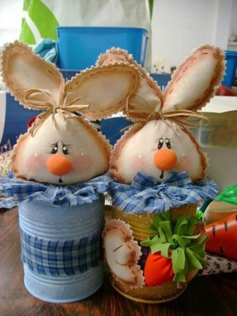 Пасхального зайца своими руками