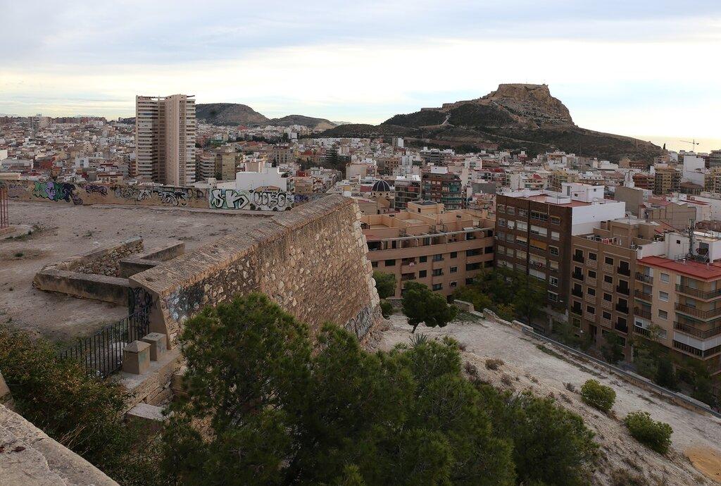 Аликанте. Крепость Сан-Фернандо (Castillo de San Fernando)