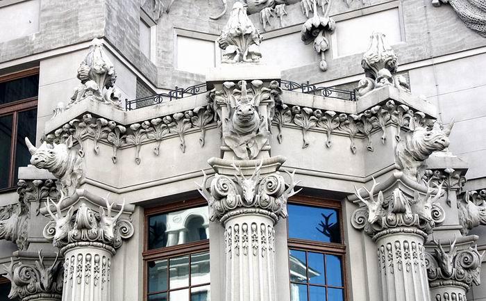 """""""Дом с химерами"""" - памятник архитектуры в стиле модерн. Киев"""