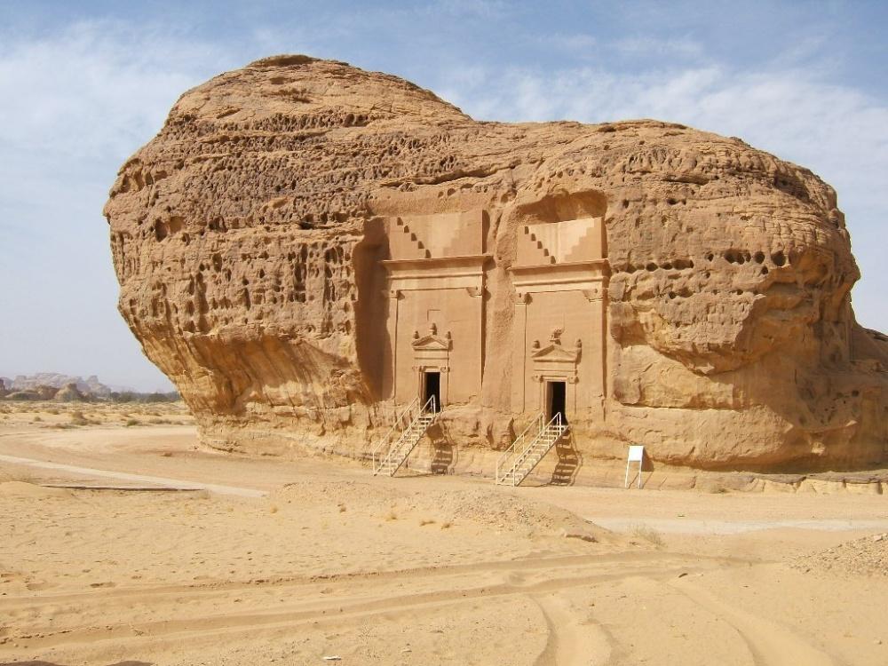 Дом вкамне. Мадаин-Салих— место раскопок, расположенное вобласти Эль-Мадина вСаудовской Аравии.