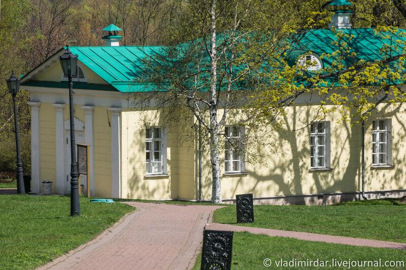 Коломенское. Дворцовый павильон 1825 года. Фокусное 210 мм.