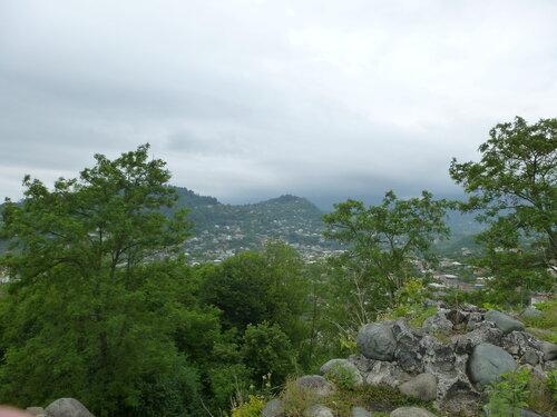 Вид в сторону гор