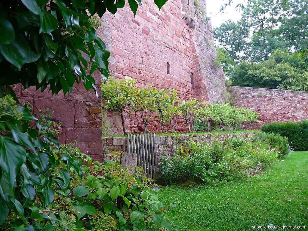 Замок Nideggen.