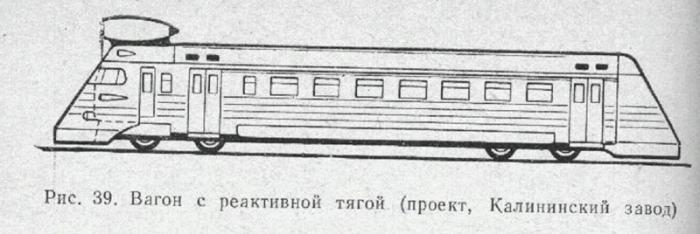 Реактивный поезд