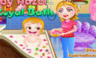 Игра Малышка Хейзел Королевская Ванна