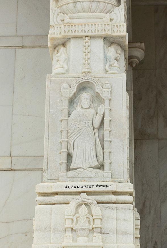 Фотография 26. Бог Иисус Христос в представлении индийцев.